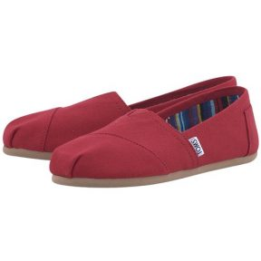 Toms – Toms Red Canvas Classic 10000874# – 00198