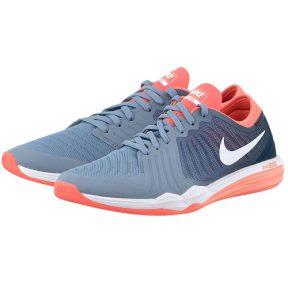 Nike – Nike Dual Fusion TR 4 819022401-3 – ΓΚΡΙ/ΠΟΡΤΟΚΑΛΙ