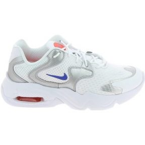 Xαμηλά Sneakers Nike Air Max 2X Blanc Bleu Argent 1010061410013 [COMPOSITION_COMPLETE]