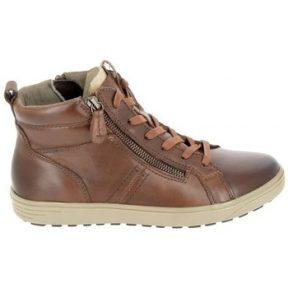 Ψηλά Sneakers Jana Boots 25202 Cognac