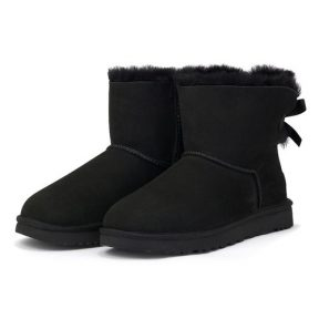 UGG – Ugg W Mini Bailey Bow 1016501-BLK – ΜΑΥΡΟ