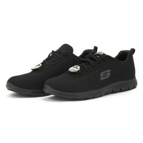 Skechers – Skechers Lace Up 77210BLK – μαυρο