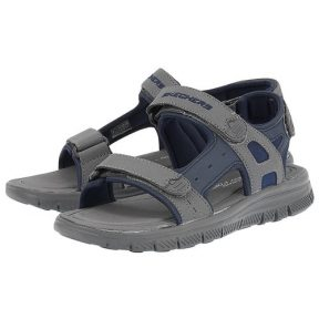 Skechers – Skechers Adjustable Strap Sandal 51874NVCC – μπλε/γκρι