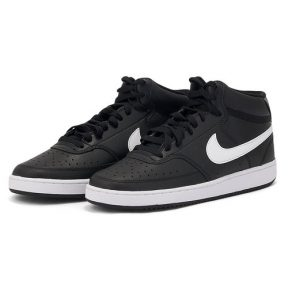 Nike – Nike Court Vision Mid CD5466-001 – μαυρο/λευκο