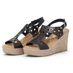OH MY SANDALS – Oh My Sandals 4597-2438 – μαυρο