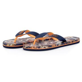 Superdry – Superdry D2 Scuba Aop Flip Flop MF310004A-0VG – μπλε/πορτοκαλι