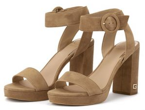 Guess – Guess Brendy Sandalo FL6BRYSUE03-TAUPE – ταμπα