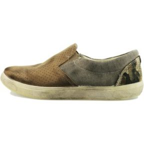 Slip on Beverly Hills Polo Club POLO mocassini camoscio beige tessuto AH989